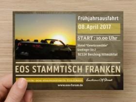 Frühjahrsausfahrt 2017 EOS STAMMTISCH FRANKEN