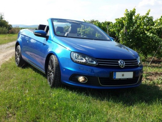 VW EOS  Exklusive Rising Blue metallic