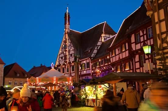 Weihnachtsmarkt Forchheim Stammtisch Bayern - Franken / Opf.