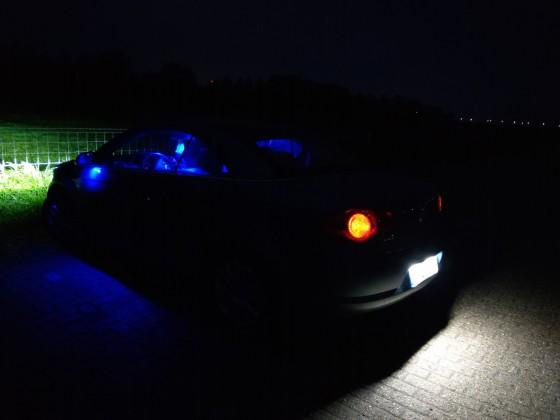Beleuchtung umgerüstet