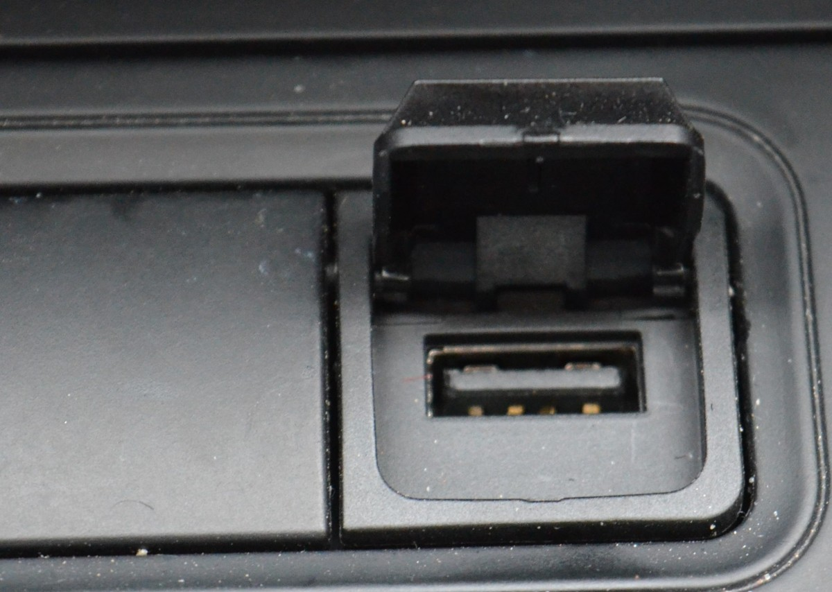 USB Port Open